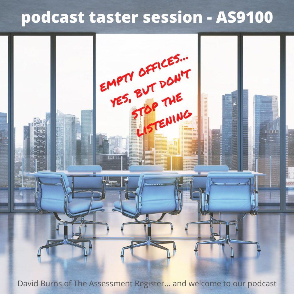 podcast taster session - new